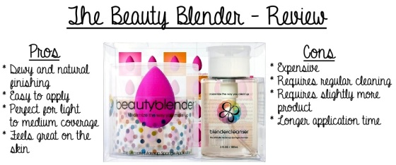 Beauty Blender Pros and Cons