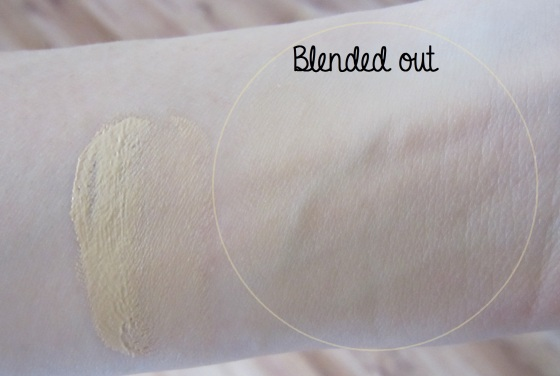 Blended out CC Cream