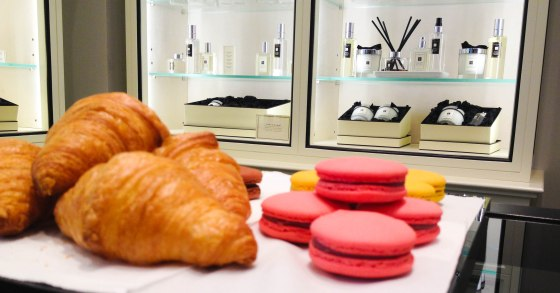 Macaroons and Croissants