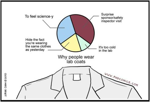 labcoat - phdcomics