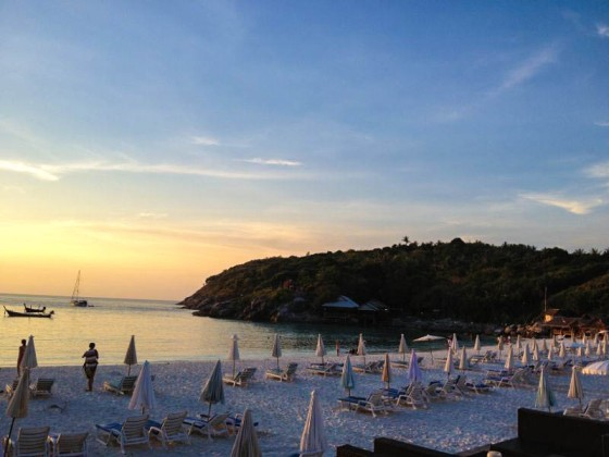 Phuket Beach at Sunset - The Ratcha