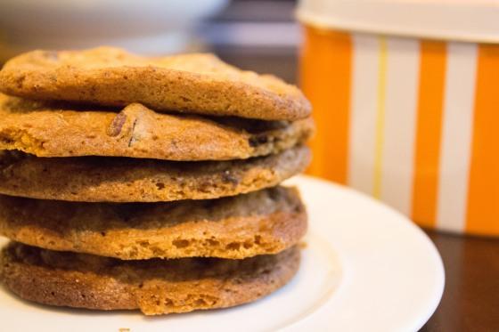 Chocolate Chunk + Pecan Cookies