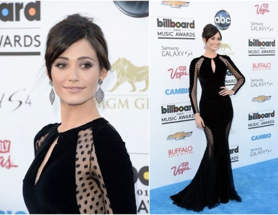 Emmy Rossum Billboard Music Awards 2013