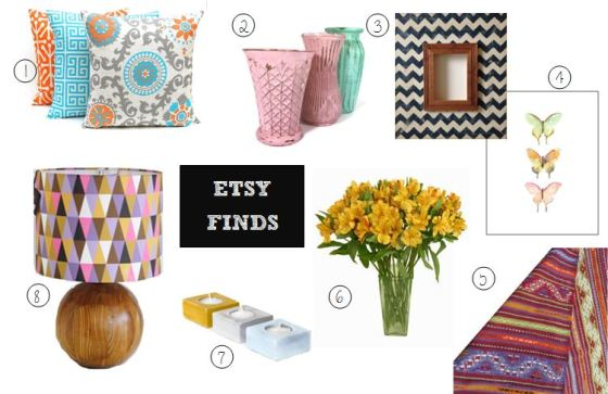 etsy finds bright interiors