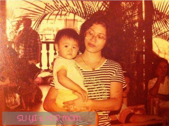 Su Yi & Her Mom