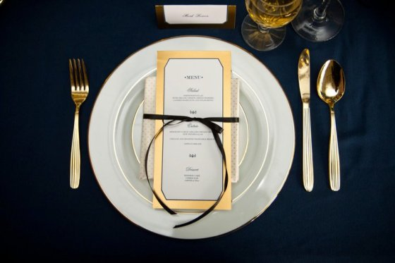 weddingtable setting