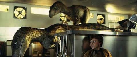 Jurassic Park Lab Scene Velociraptor