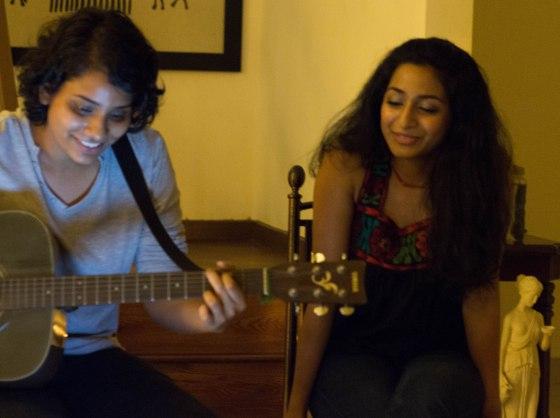 Lasha and I Singing
