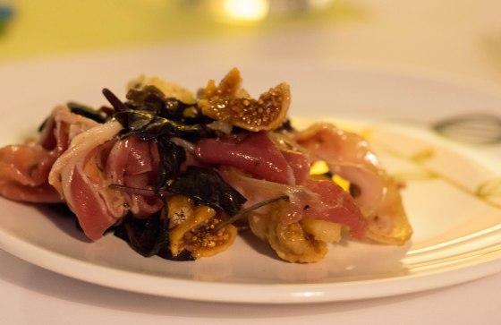3 - figs, olives prosciutto