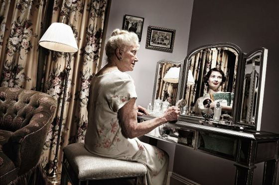 elderly to young reflections 4
