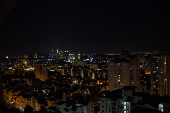 view of kl from bangsar