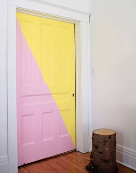 painted-door---yellow-and-pink