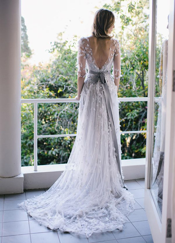 Detailed Back Wedding Dresses | peoniesandpancakes