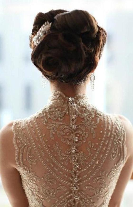 Detailed Back Wedding Dresses | peoniesandpancakes