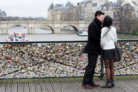the love lock bridge 1