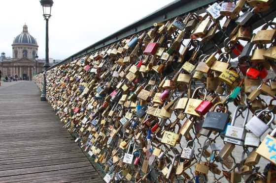 the love lock bridge 2
