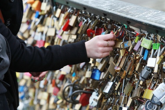 the love lock bridge 3