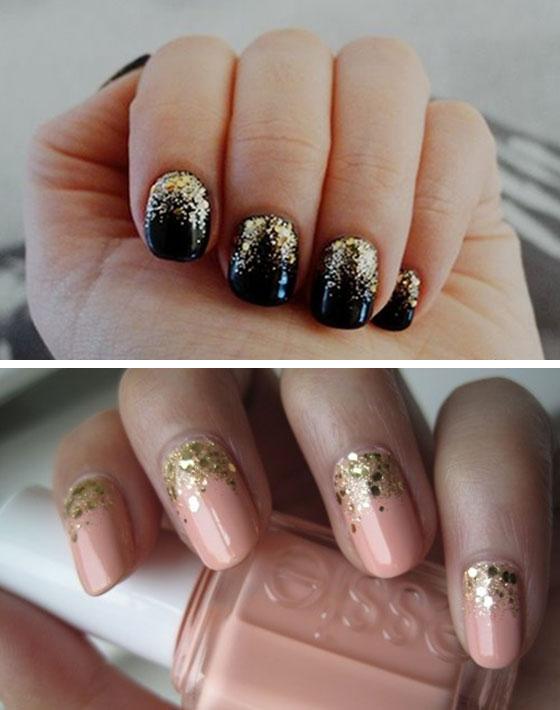 gradient-glitter-nail-art