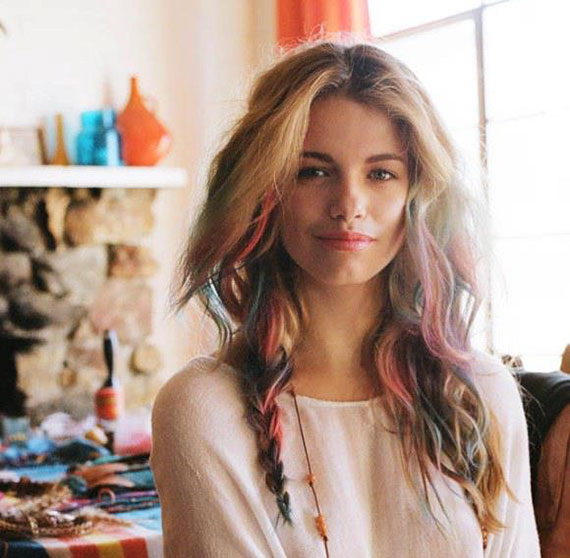Hair Chalk | peoniesandpancakes