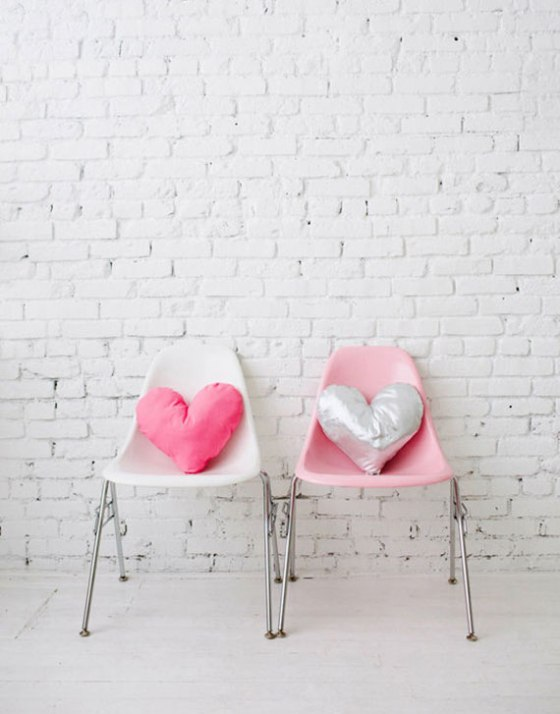DIY-heart pillow