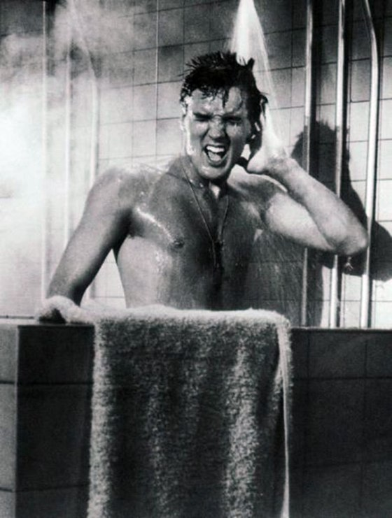 elvis-singing-in-the-shower